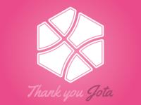 Thank you Jota