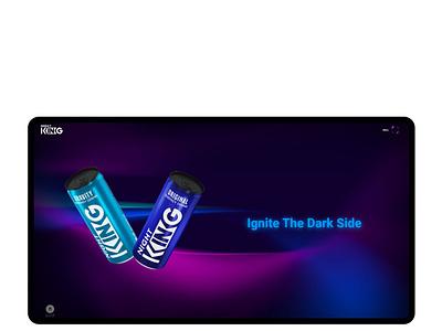 NightKing Drink branding آژانس دیجیتال مارکتینگ دکمه ui design dokmeh شرکت طراحی سایت دکمه webdesign