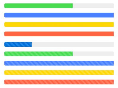 Bootstrap Theme Progress Bars