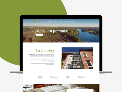 Shale Housing - Landing Page frontend argentina web ui design landing page one page