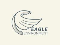 Eagle logo line work