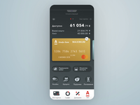 Mobile Banking App Concept
