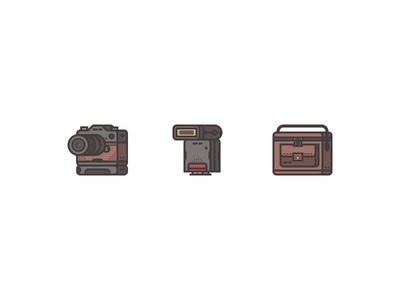 Retro Camera Icon Pack