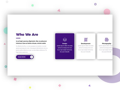 Services | Creative Agency Landing Page