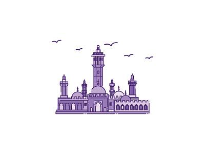 Ramadan 2019 drawing graphic design vector designer design icon illustration islam ramadan holy mosque eid