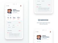 Homenurse - Patient page