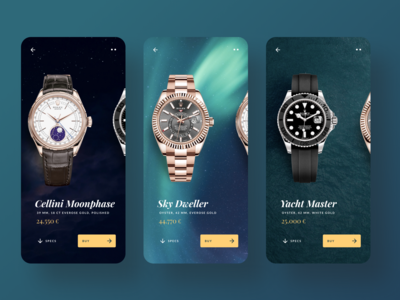 Watch & Time Telling App / Concept