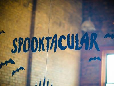 Spooktacular Window Graphics