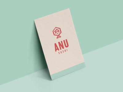 Anu Sushi Business Card