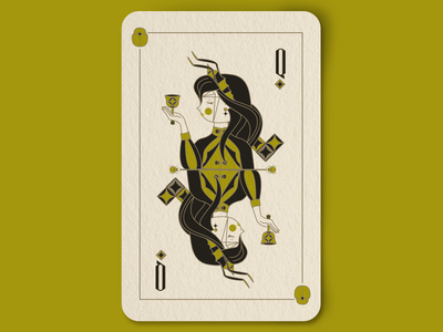 Queen of the beetles cards design beetle beetles design cope anthens queen bugs royalty vector queens playing cards illustration insects line art crown deck of cards cards