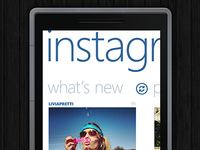 Instagram Panorama for Windows Phone