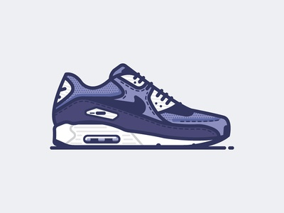 "Air Max 90 ""Dark Raisin"""