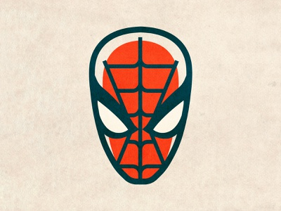 Spidey 🕷 minimal character hero marvel comics illustration illustrator vector spiderman spider-man