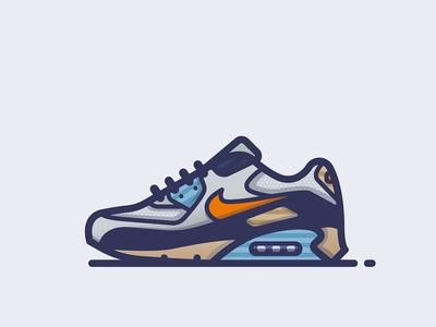 Nike 'Blue Void' Air Max