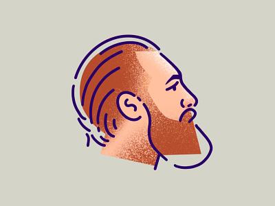 Conor McGregor sketch minimal illustrator illustration beards beard drawing procreate people ufc mma conor conor mcgregor