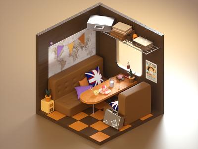 room c4d