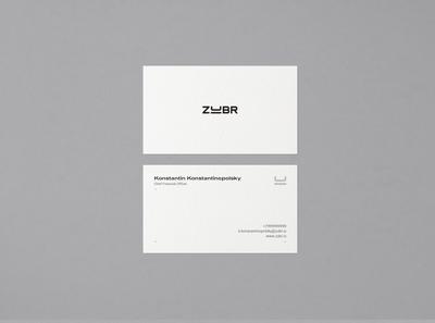ZUBR Business Card