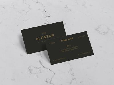 Alcazar Business Card