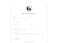 Request Page // Protopia