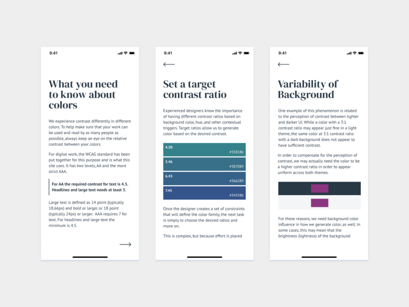 How To Work With Colors whitespace spacing layout typography background header contrast ratio contrast accessibility colorscheme colorswatch color theory color theme colours colors