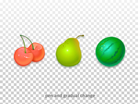 Fruit icons for game APP