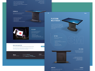Ideum Multitouch Table Microsite multitouch web