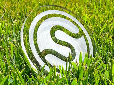 Starlite Laser Etching logo brand identity minimal clean design etching acrylic