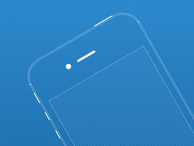 iPhone Wireframe Sketch Kit drawing iphone app mobile wireframe wireframes sketch print grid layout design ui user interface apple device
