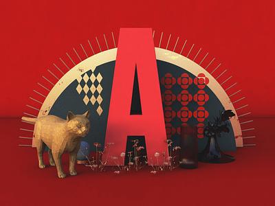 A Exploration digital art art director bodegon cinema4d 3d art 3d