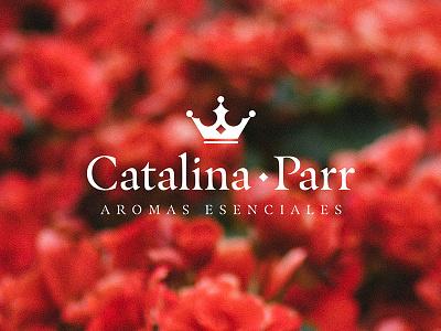 Catalina Parr Logo vector typography design logo