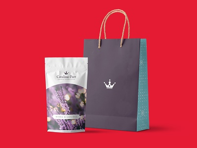 Catalina Parr Packaging Proposal mockup icon typography iso logo design packaging