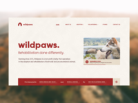Wildpaws Website Design