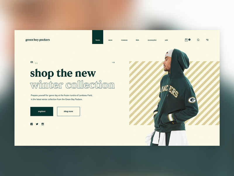 37c24f84 Green Bay Packers - Winter Collection by Matt Campbell on Dribbble