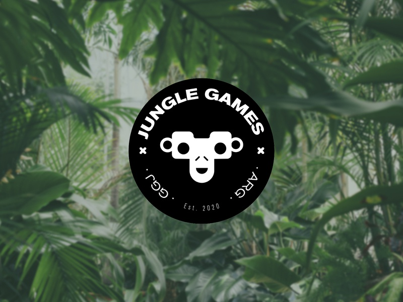 Jungle Games - Global Game Jam 2020 Team jungle argentina vector monkey global game jam videogame logo