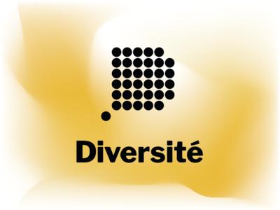 Diversité graphic design brand logo