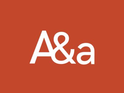 Aguilar & Asociados argentina typogaphy graphic design logo