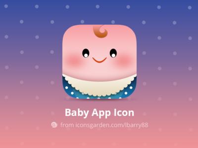 Free PSD Newborn Baby app icon