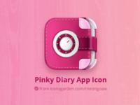 Pinky Diary app icon