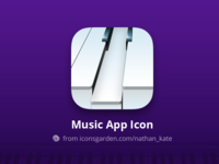 Free PSD Piano Music app icon