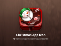 Snowman Chocolate Cup app icon