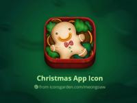 Christmas Gingerbread Man app icon