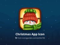 Christmas Snowman app icon