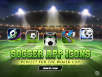 SOCCER APP ICON COLLECTION