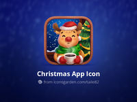 Christmas Reindeer app icon