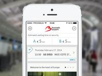 Brussel airport app