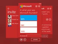 Microsoft Quiz App