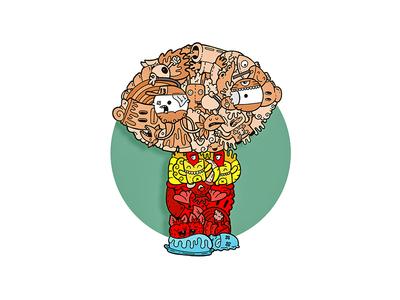 Stewie Griffin (Carnivorum version) family guy stewie griffin carnivorum