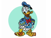 Donald Duck by carnivorum