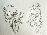 Zombies sketches