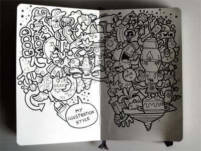My Moleskine cartoon carnivorum illustration moleskine